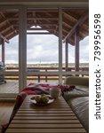 scandinavian style minimalistic ... | Shutterstock . vector #739956598
