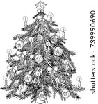 Coloring Pages Christmas Tree...