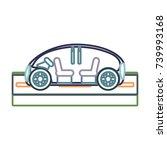 car  vector illustration | Shutterstock .eps vector #739993168
