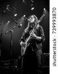 Small photo of Amsterdam, The Netherlands - 22 October 2017: Concert of American alternative rock band the Breeders formed in 1989 by Kim Deal of the Pixies, at Venue Melkweg in Amsterdam