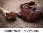 Ganoderma Lucidum Mushroom On...