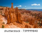 bryce canyon national park at... | Shutterstock . vector #739999840