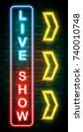 vector illustration of live... | Shutterstock .eps vector #740010748