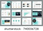 page design for business...   Shutterstock .eps vector #740036728