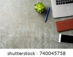business background | Shutterstock . vector #740045758