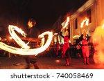 minsk  belarus.september 30... | Shutterstock . vector #740058469