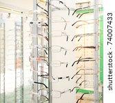 eye glasses background   Shutterstock . vector #74007433