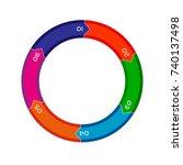 circular business plan | Shutterstock .eps vector #740137498