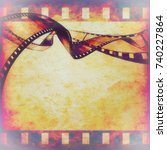 Abstract Composition Of Movie...