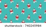 Bear Polar Dance Santa Claus...