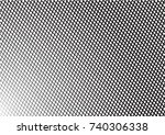 minimal grey scale a4 cover... | Shutterstock .eps vector #740306338