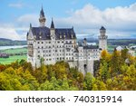 The Neuschwanstein Castle In...