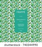 geometric chevron zigzag...   Shutterstock .eps vector #740344990