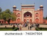 Agra  India January 31  Darwaz...