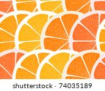 Citrus Segments Seamless...