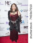 Small photo of New York, NY - October 23, 2017: Jewell Jackson McCabe attends Harlem School of the Arts Masquerade Ball at The Plaza Hotel