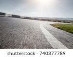 the road in china | Shutterstock . vector #740377789