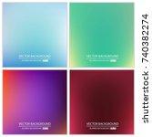 abstract creative concept... | Shutterstock .eps vector #740382274