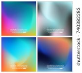 abstract creative concept...   Shutterstock .eps vector #740382283