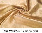 fabric made of silk fabric...   Shutterstock . vector #740392480