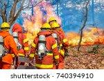 Firefighters Preparing...