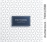stylish abstract pattern vector ... | Shutterstock .eps vector #740413588
