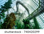 """""""cloud mountain"""" at gardens by... 