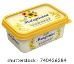 Margarine Box With Abstract...