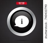 speech bubble icon.thinking sign
