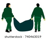 Park Outdoor Workers With Bag...