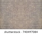 leather texture background  ... | Shutterstock . vector #740497084