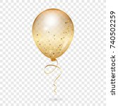 balloon   vector illustration... | Shutterstock .eps vector #740502259