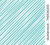 seamless geometric aquamarine... | Shutterstock .eps vector #740536333