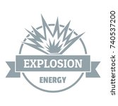 energy explosion logo simple