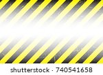 line yellow and black color... | Shutterstock .eps vector #740541658
