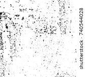 grunge black white. monochrome...   Shutterstock .eps vector #740544028
