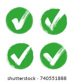 check mark   stock vector. | Shutterstock .eps vector #740551888