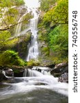 khlong lan national park.... | Shutterstock . vector #740556748