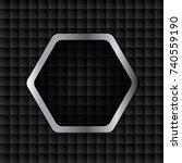 abstract metallic background .   Shutterstock . vector #740559190