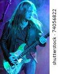 denver   october 4  guitarist... | Shutterstock . vector #74056822