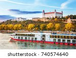 bratislava slovakia oktober 7...   Shutterstock . vector #740574640