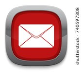 mail icon | Shutterstock .eps vector #740597308