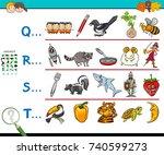 cartoon illustration of... | Shutterstock . vector #740599273