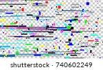 Glitch Noise Texture. Static...