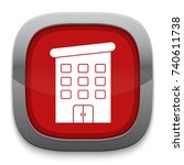 building icon | Shutterstock .eps vector #740611738