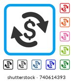 refresh money balance icon.... | Shutterstock .eps vector #740614393