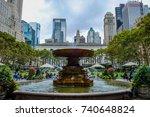 new york  usa   october 1 ... | Shutterstock . vector #740648824