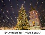 Christmas Tree With Lights...