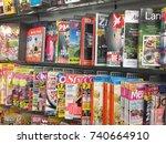 berlin  germany   october 11 ...   Shutterstock . vector #740664910