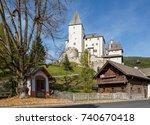 mauterndorf castle  built about ... | Shutterstock . vector #740670418